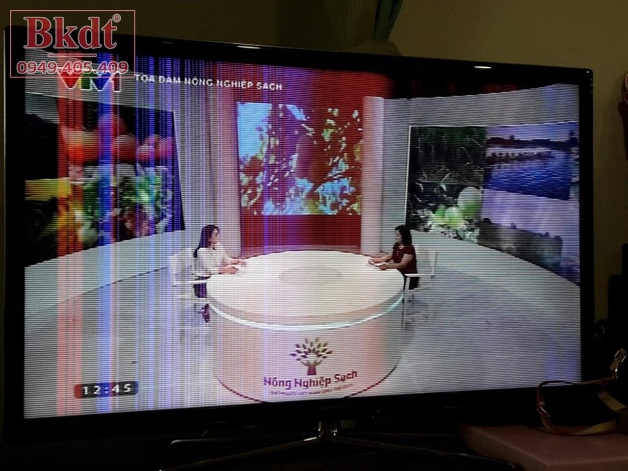 Tivi Samsung bị sọc dọc màn hình
