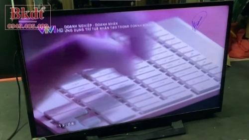 Tivi Sony mất màu, nhòe màu