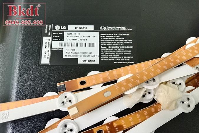 Thay LED màn hình Tivi LG 42LN5110 42 inches